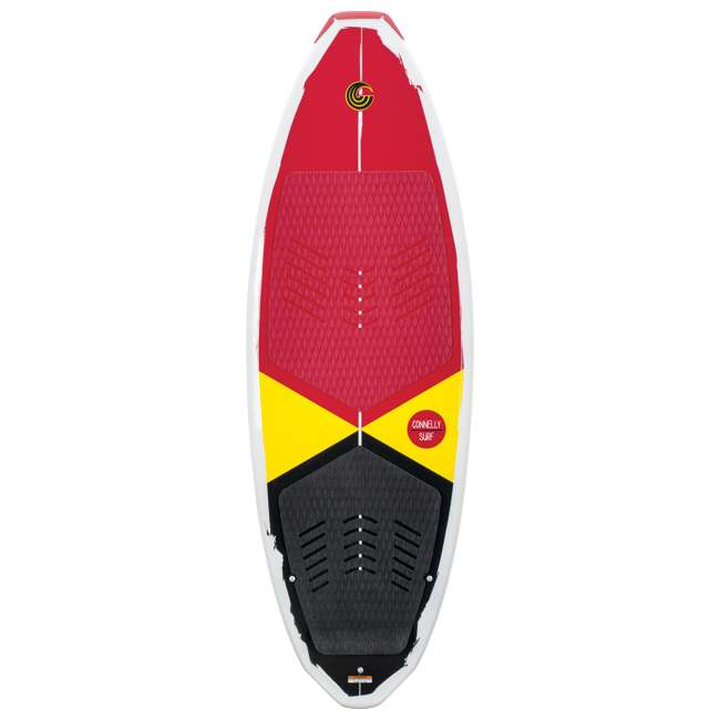 62184171-CON CWB Heavy Duty Extra Grip Connelly Ride Wakesurf Board & Tail Fins for Beginners