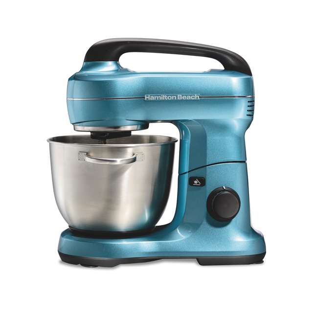 63393 Hamilton Beach 7-Speed Stand Mixer, Blue 1