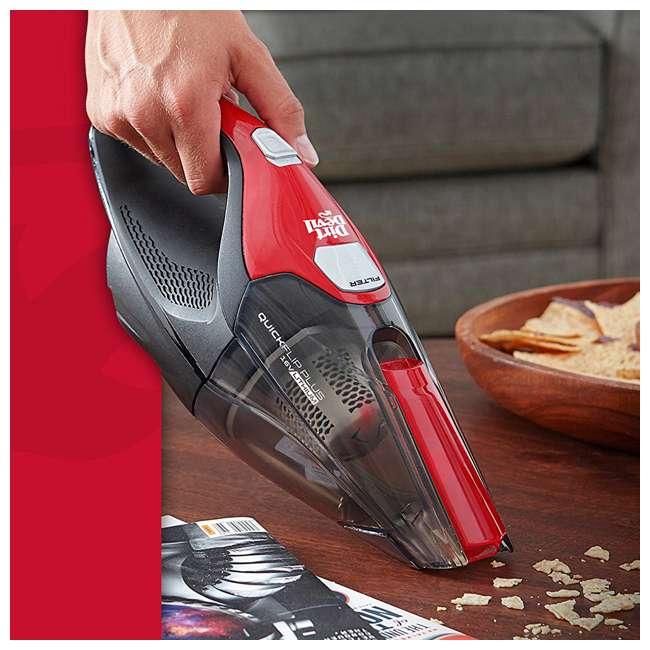 dirt devil quickflip plus 16v cordless handheld vacuum bd30025b. Black Bedroom Furniture Sets. Home Design Ideas