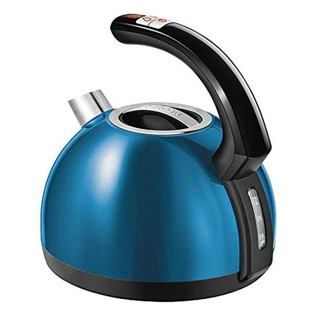 SWK1571BL-NAB1 Sencor SWK 1571BL 1500 Watt 5 Temp Electronic Tea Kettle with LED Display, Blue