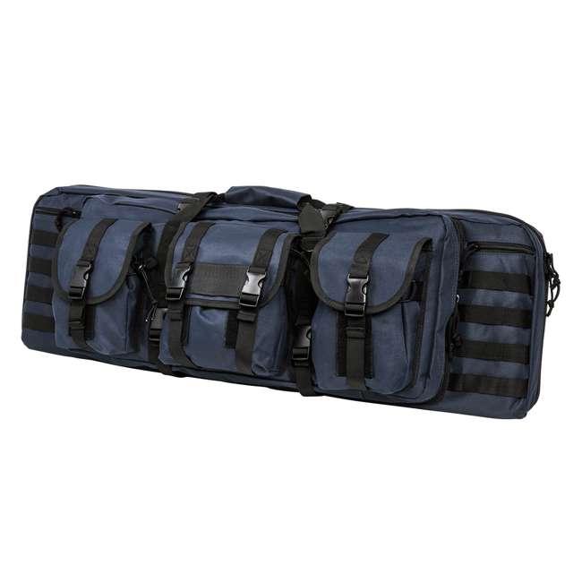 "CVDC2946BL-36 NcSTAR VISM 36"" Double Rifle Carbine Padded Soft Gun Case Carry Bag, Blue/Black"