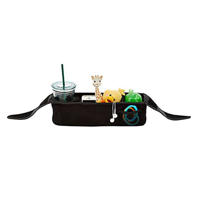 BJ90000 Baby Jogger Parent Stroller Attachment Console Cupholder Phone Tray Organizer 3
