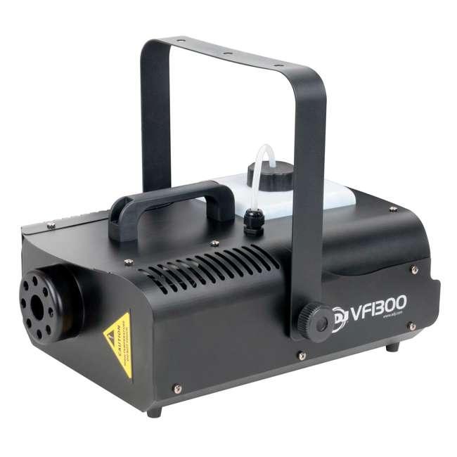 VF1300 + BLACK-24BLB American DJ 1300 Watt 2.3 L Tank Fog Machine w/ Remote & 24 Inch 20W Black Light 2