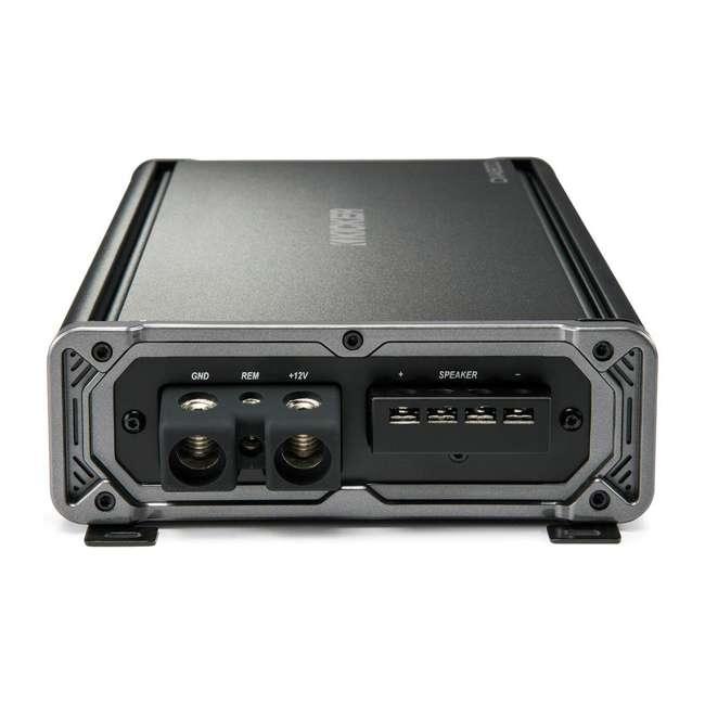 46CXA18001 Kicker CX1800.1 1800 Watt Mono Car Amplifier, Black  3