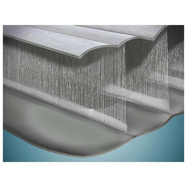64417E Intex Dura-Beam Air Bed Mattress w/ Built-In Pump, Queen (Used) (2 Pack) 11