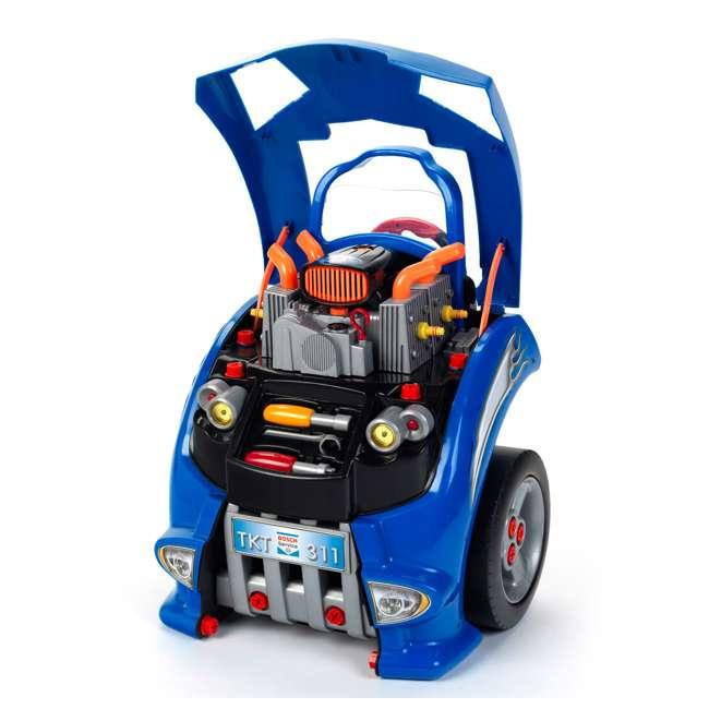 KET-2851-TK Theo Klein Kids Interactive Bosch Toy Car Engine Service Station 2