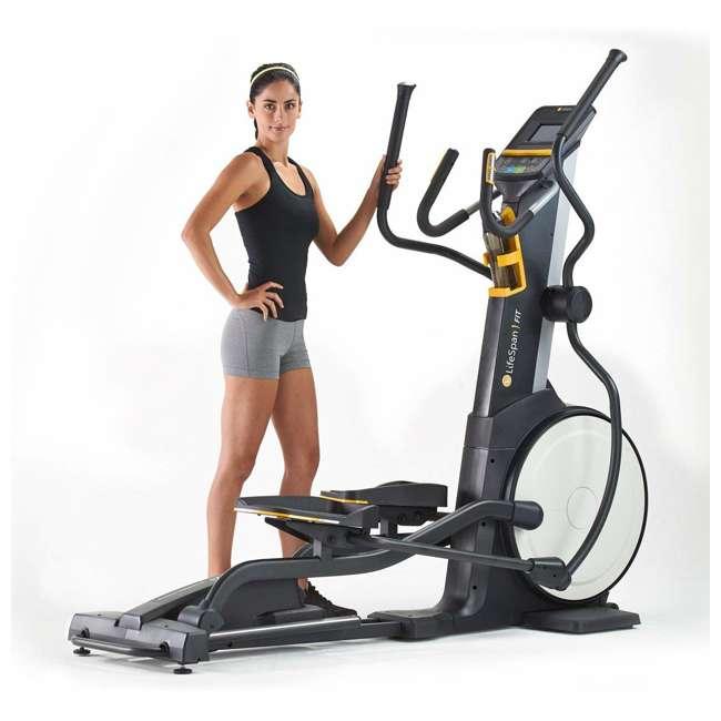 E2i LifeSpan E2i Magnetic Resistance Home Elliptical Cross Trainer Machine 3