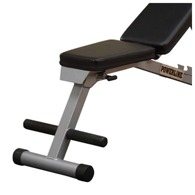 PFID125 Body Solid PFID125X Powerline Folding Multi-Bench 4