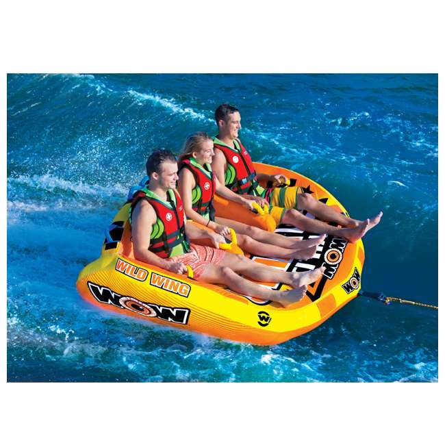 18-1130 World of Watersports Wild Wing 2 Rider Inflatable Tube 4