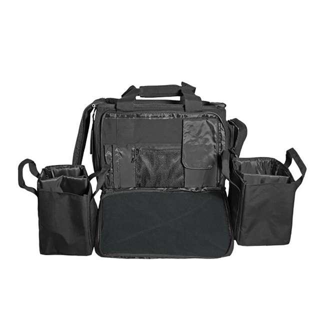 CPG-DB-CTD-M-B Cannae Pro Gear 500D Nylon 60-Liter Transport Duffle Bag, Black 1