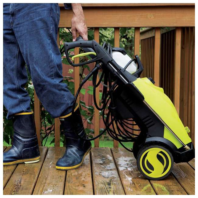SUJ-SPX3000-RB Sun Joe Electric Pressure Washer 2030 PSI (Certified Refurbished) 10
