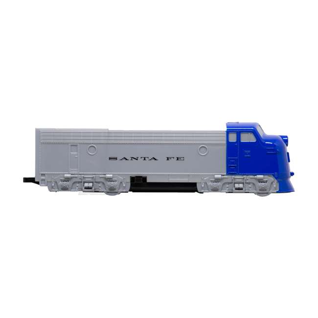 00957 Bachmann Industries 24-Piece HO Scale Battery Operated Rail Express Kid Train Set with Sound, Blue 1