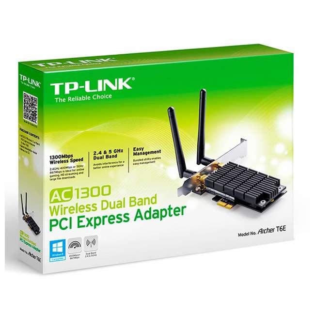 TPL-ARCHERC5400 + TPL-ARCHERT6E TP Link Archer Wireless Gigabit Router & Dual Band Adapter  11
