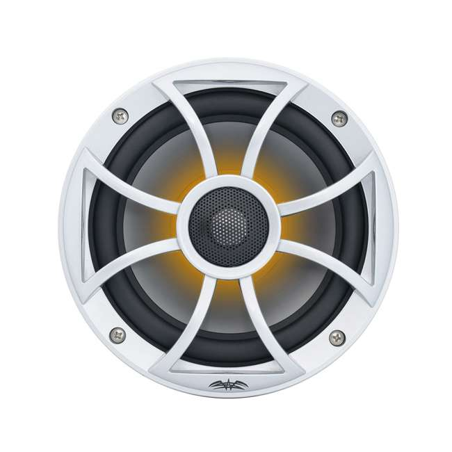 "RECON6SRGB Wet Sounds Recon 6.5"" 2-Way Marine Speakers w/ LED lights 8"
