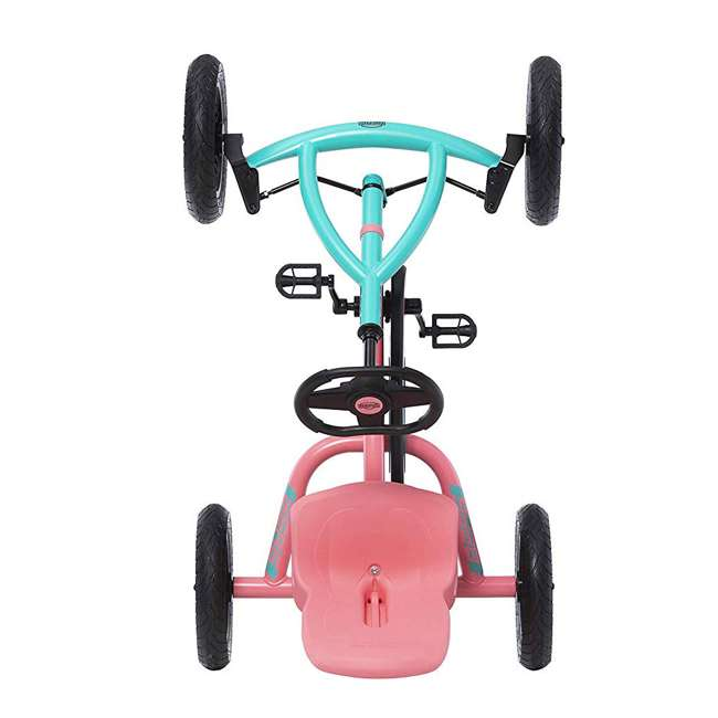 24.20.64.00 Berg Toys Buddy Lua Pedal Powered Kids Go Kart Toy, Pink and Mint 3