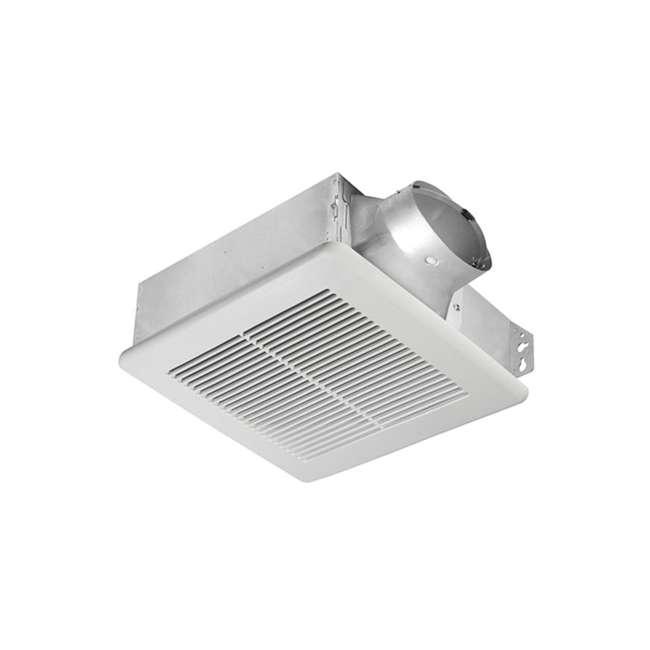 4 x SLM80 Delta Breez BreezSlim Ventilation Bathroom Fan Single Speed 80 CFM 0.6 Sones (4 Pack) 1