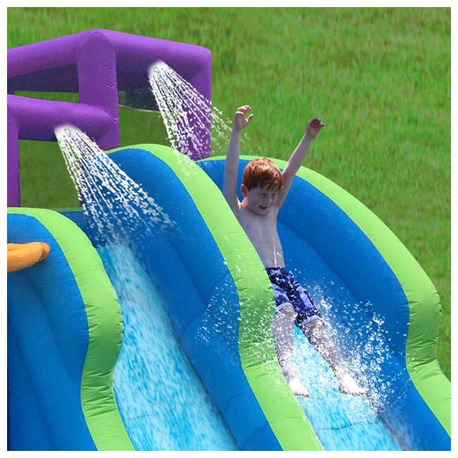 90793 Kahuna Twin Falls Inflatable Water Slide 2
