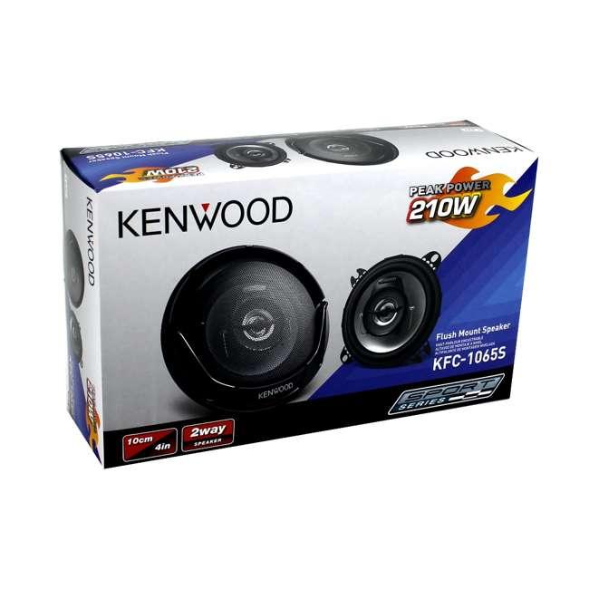 12 x KFC-1065S Kenwood KFC-1065S 4-Inch 210W 2-Way Speakers (Pair) (12 Pack) 7