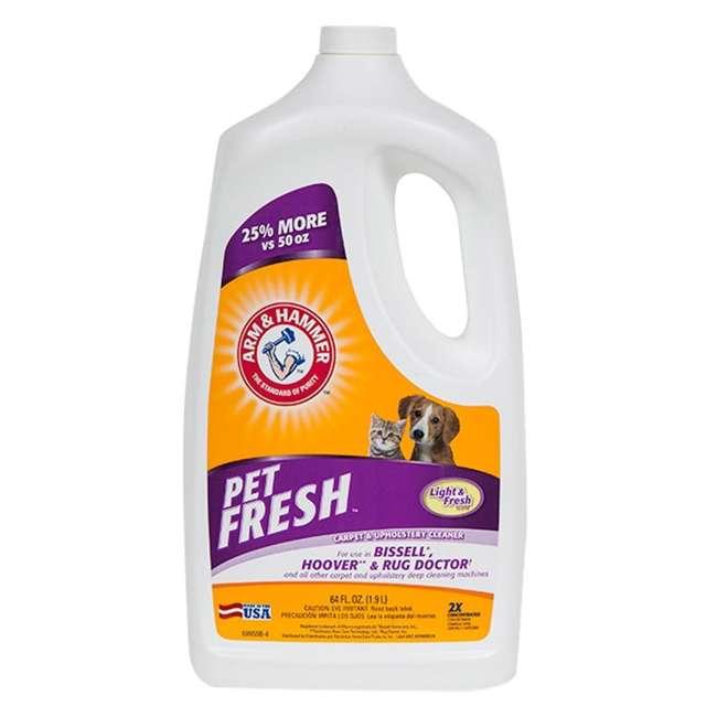 MC1275 + 69955B McCulloch Steam Cleaner & Arm & Hammer Pet Fresh Carpet Cleaner 2