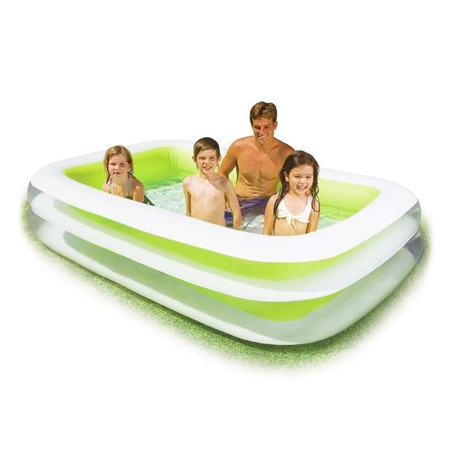 Intex swim center inflatable family swimming pool 56483ep Intex inflatable swimming pool