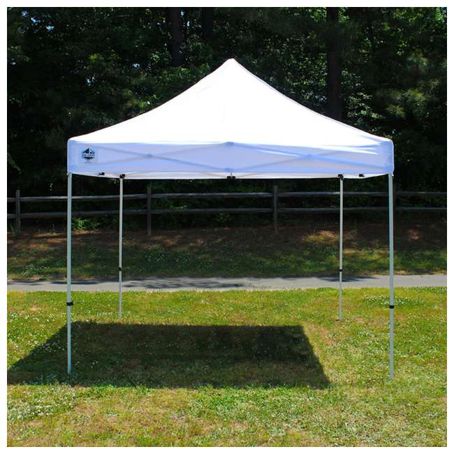 FSSHST10WH Z-Shade Venture 10 x 10 Foot Lawn, Garden & Event Outdoor Portable Canopy, White 1