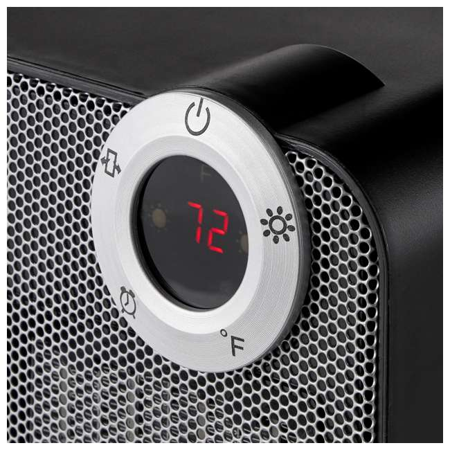 LIM-19-100002 Limina Portable Home Office Personal Electric 1500W Ceramic Room Space Heater 2