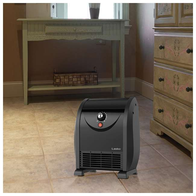 LKO-WC14812-TN Lasko WC14812 1500 Watt Portable Automatic Airflow Fan Forced Air Space Heater 2