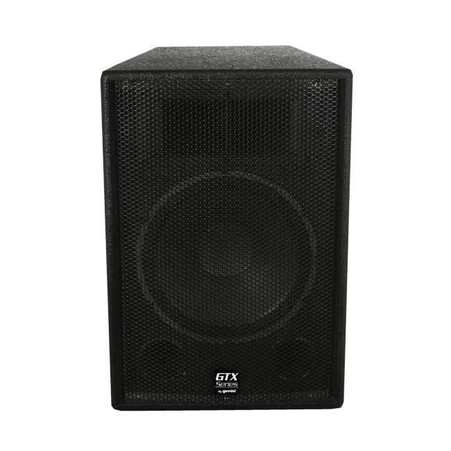GTX-1500 Gemini GTX-1500 15-Inch Passive PA Loudspeaker 740W