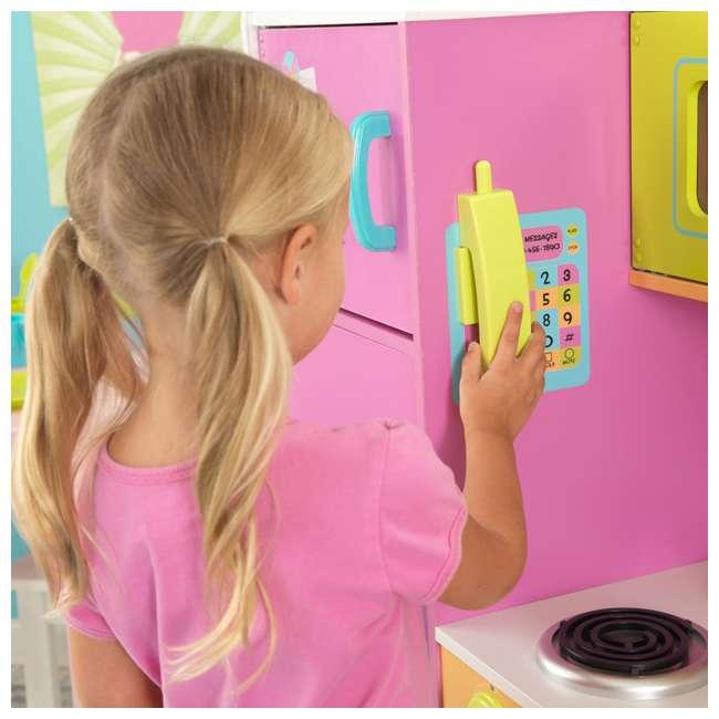 KidKraft Big & Bright Play Kitchen w/ 27 Piece Cookware Set