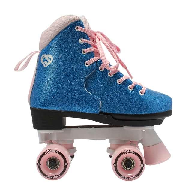 168218 Circle Society Bling Bubble Gum Kids Skates, Sizes 3 to 7 2