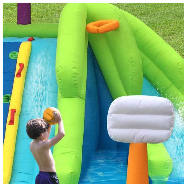 6 x 90360 Kahuna Triple Blast Inflatable Water Slide (6 Pack) 5