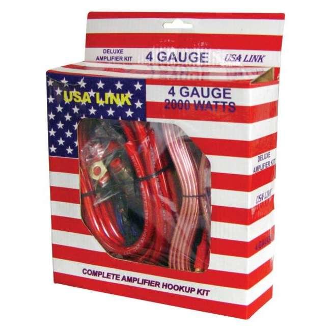 4GAUGE Q POWER 4-Gauge 2000W Amplifier Wiring Installation Kit