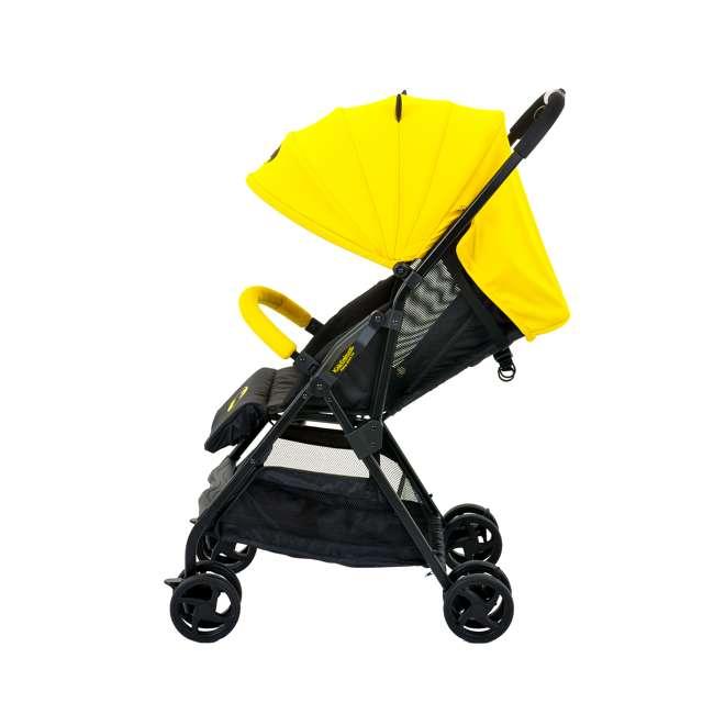 KE-7701BATYL Kids Embrace DC Comics Batman Lightweight Compact Stroller with Canopy, Yellow 2