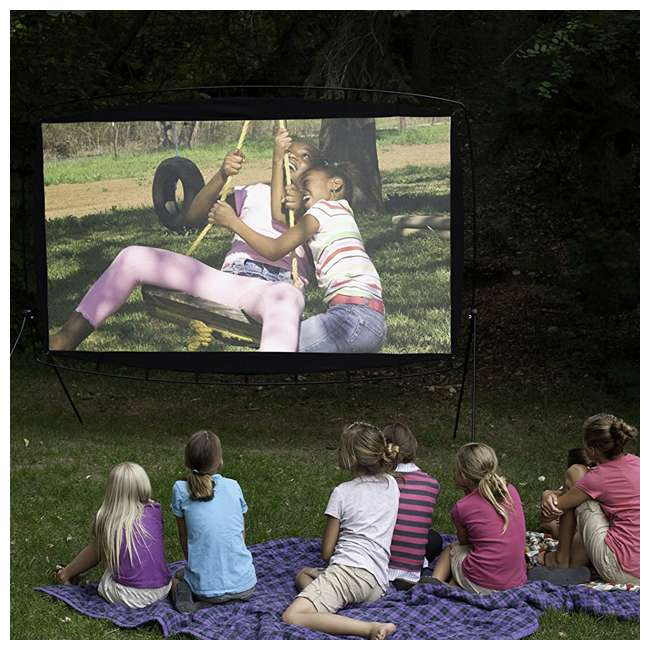 CC_OS115 Camp Chef 115-Inch Giant Outdoor Nylon Movie Projector Screen (2 Pack) 3
