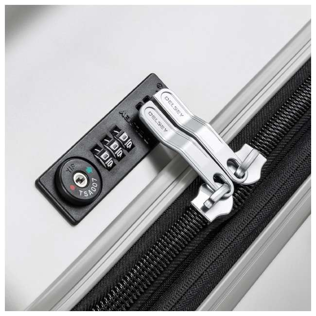 """00207183011 DELSEY Paris Titanium 29"""" Expandable Checked Spinner Rolling Luggage Suitcase 5"""