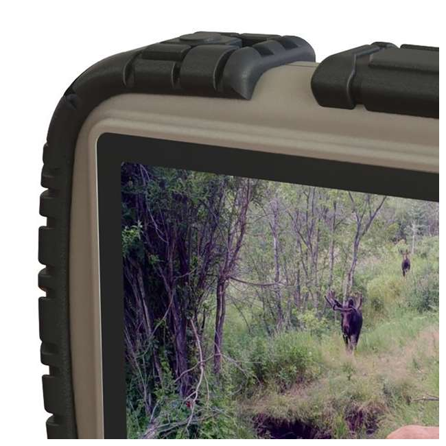 """STC-CRV43-U-C Stealth Cam 4.3"""" LCD Game Photo Viewer & SD Card Reader for Hunting (For Parts) 4"""