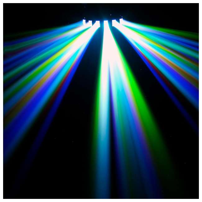 DERBY-X + DJBANK Chauvet DJ Derby X DMX-512 LED Strobe Lighting | Bank RGBA LED Wash Effect Light 7