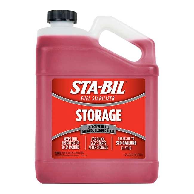 22213 + 22402 STA-BIL Gasoline Storage Treatment Additive + Engine Oil Stabilizer 1