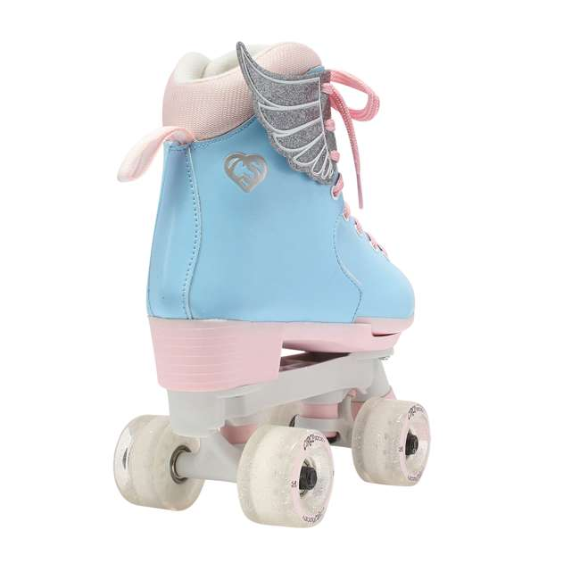 168260 Circle Society Classic Cotton Candy Kids Skates, Girls Sizes 12 to 3 4