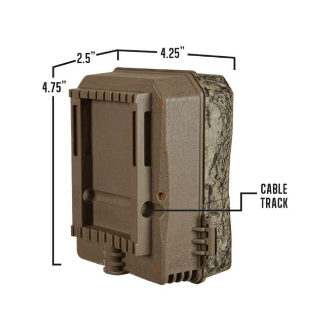 MUD-MTC600 Muddy Outdoors Pro Cam 20 MP LED Deer Hunting Trail Game Photo & Video Camera 2