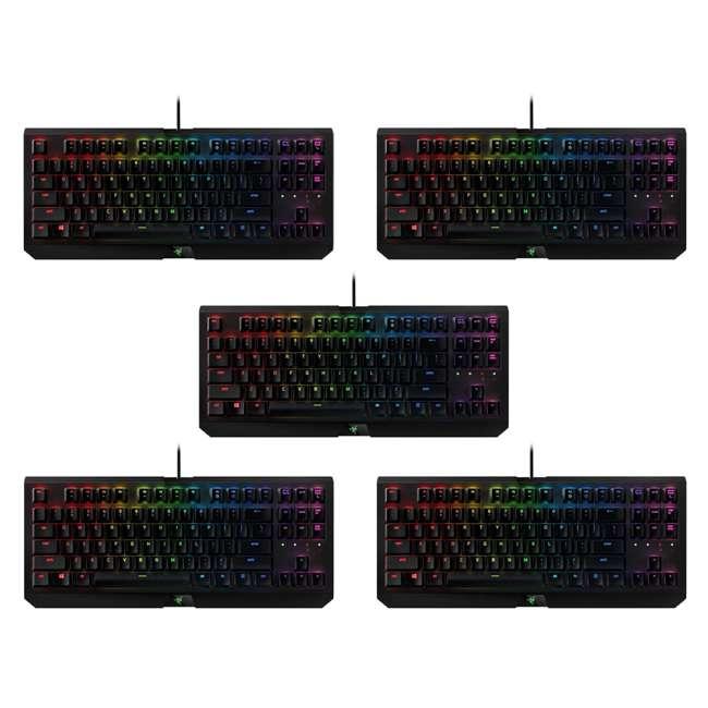 5 x RZ03-01770100-R3M1 Razer BlackWidow Tournament Chroma X Keyboard, Black (5 Pack)