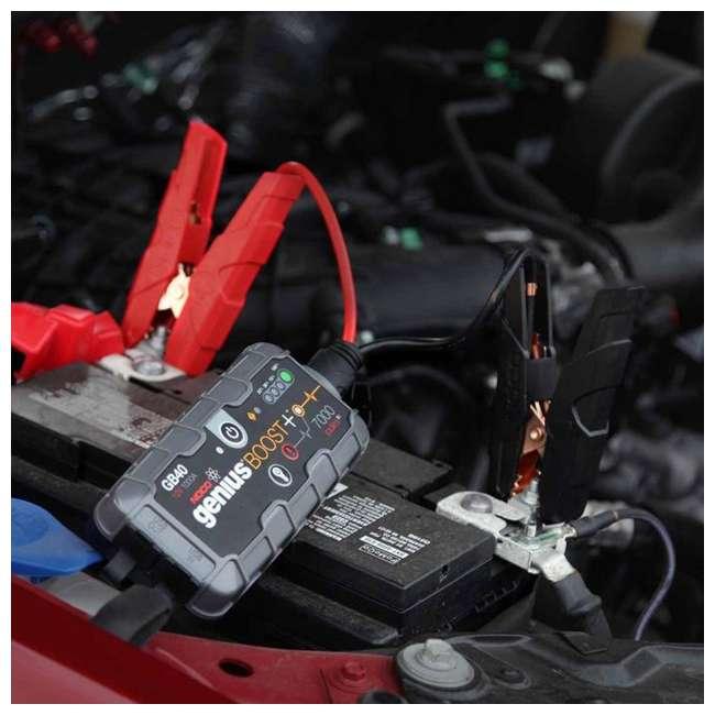 GB40 Noco Genius GB40 Boost Plus 1000-Amp UltraSafe Jump Starter 6