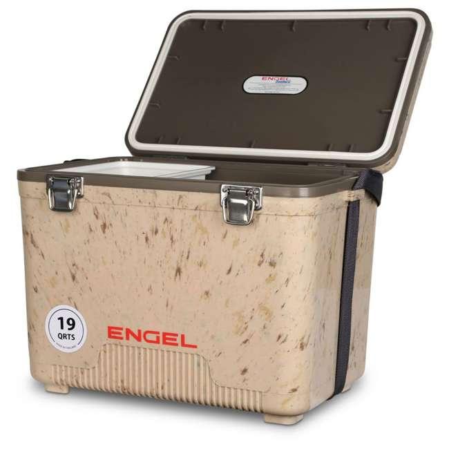 UC19C1 Engel 19-Quart Lightweight Dry Box Cooler, Grassland 3