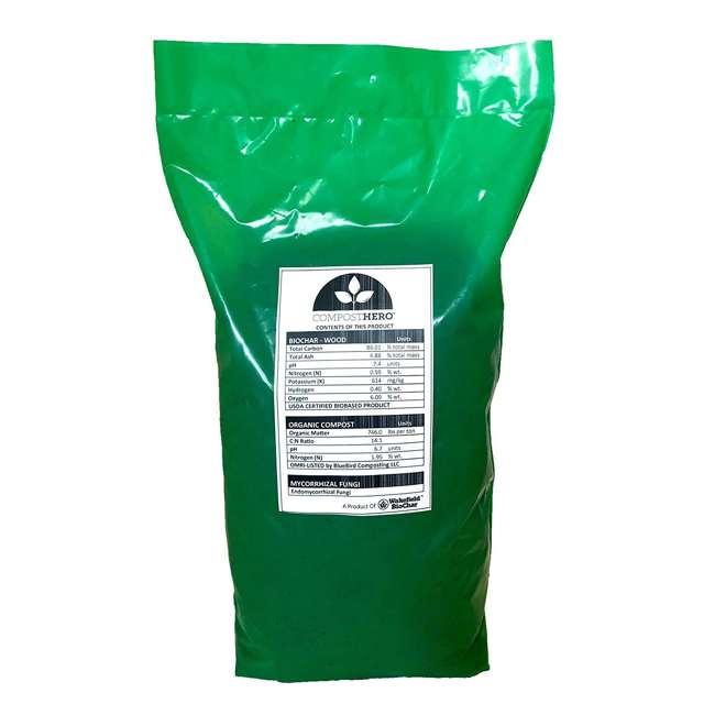 WFHERO-CMP-SM Wakefield HERO Blend 1 Gal Biochar Organic Garden Compost w/ Mycorrhizal Fungi 1