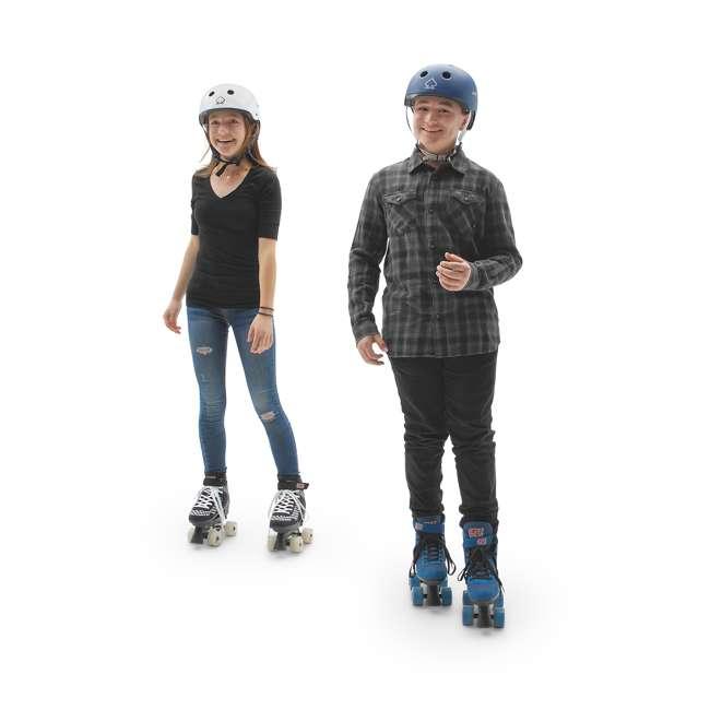 168221 Circle Society Street Checkered Kids Skates, Sizes 3 to 7 7