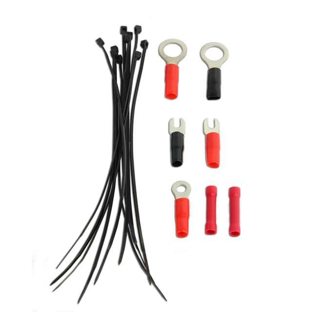 VM-SRA500.2 + VM-SRPK8R + VM-SRCAP4.5 VM Audio SRA500.2 500W 2 Channel Amplifier with 8 Gauge Wiring Kit and 4.5 Farad Capacitor 11
