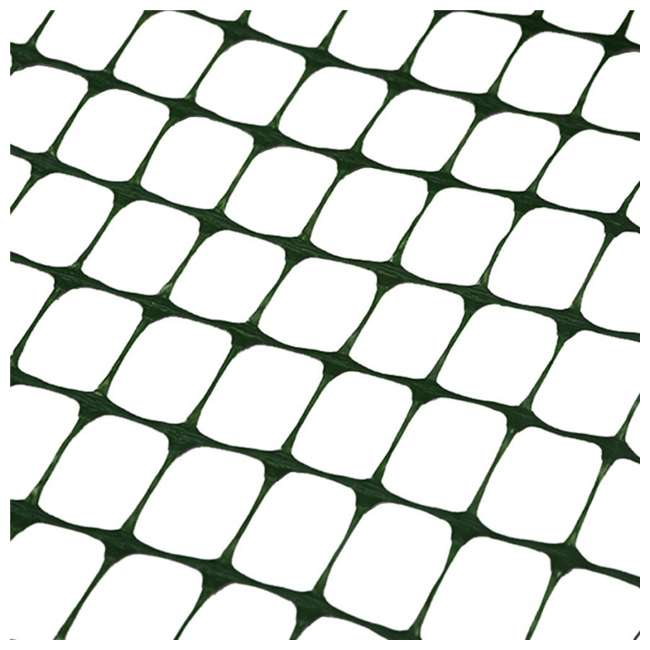 APPPF4100G Abba Patio 4 x 100 Foot Durable Safety Netting, Green 3
