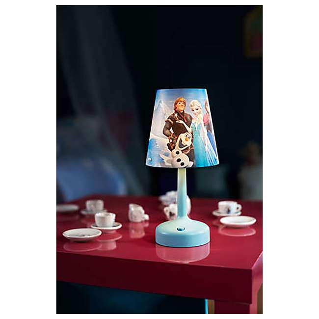 PLC-7179608U0  Philips Disney Frozen Portable Children Kids Bedside Table Lamp 5