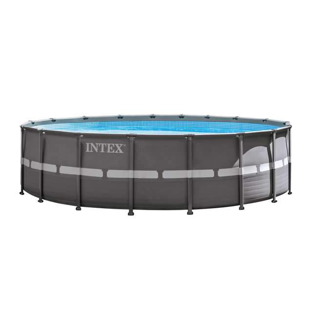 Intex 18 39 X 52 Ultra Frame Swimming Pool Set W Sand Pump