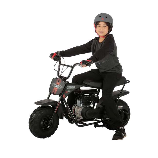MM-B80B-BR Monster Moto 80cc Gas-Powered Off-Road Mini Dirt Bike  2